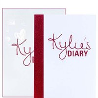 Wholesale Diary For Girls - Kylie diary Eyeshadow Palette kit 11 colors Valentine's day edition Kylie Jenner diary eye shadow Palette for your Girl friend