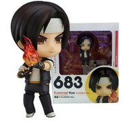 Wholesale Action Figure King Fighters - LilyToyFirm Q Version Nendoroid The King Of Fighters Kusanagi Kyo Classic Ver. 683 PVC Action Figure Collectible Model Toys