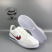 Wholesale Cheap Net Lighting - Cheap Sale Cortez Mens Womens Net Point Running Shoes for Sculpture High Frequency Outdoor Classic Casual Sneakers Size 36-45