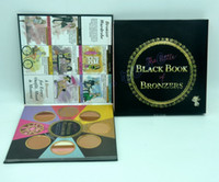 Wholesale Books Oils - HOT Makeup little black book of bronzers Bronzers & Highlighters DHL Free shipping+GIFT