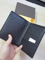 Wallets squares side pockets - JAMES WALLET designer Double Side Passport Cover high quality men travel accessory with inside card holder passcard pocket purse
