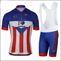 Wholesale Australia Cycling Jersey - 2017 Men Summmer triathlon Australia National Team Cycling Jersey mountain bike clothes maillot ciclismo ropa Size XXS-6XL N3