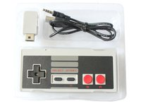 Free DHL Wireless USB Plug and Play Gaming Controller Gamepad para NES Mini Buttons Edition Classic com Wrireless Receiver