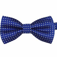 Wholesale Toddler Boy Tuxedo Tie - Wholesale- Toddler Baby Boy Formal Party Infant Pre Tied Tuxedo Bow Gentle Tie Necktie