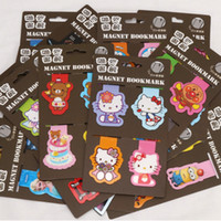 Wholesale Hello Kitty cartoon characters bookmark Creative creative bookmarks The book label for office teaching Reader s Gift page labelfree delivery