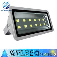 Wholesale Led Reflector White - LED Flood Light Waterproof IP65 600W Floodlight Spotlight Led Reflector Garden Outdoor Lighting Lamp AC85-265V