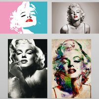 Wholesale marilyn monroe abstract paintings - Marilyn Monroe 5D DIY Diamond Painting Cross Stritch Rinestone Pictures of Crystals Embroidery Patchwork Home Decor