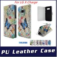 aufladung telefonständer großhandel-Brieftasche Fall für LG X Lade Fiesta LTE X Power 2 Für Motorola MOTO G5S PLUS PU Leder mit Stand Telefonabdeckung C