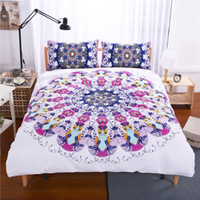 Wholesale Swirl Cover - 2017 New Eye swirl Bedding Set Qualified Bedclothes Unique Design No Fading Duvet Cover Twin Full Queen