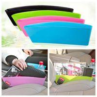 Wholesale Seat Keys - Toughness Compressible Type Car Seat Crevice Debris Storage Box For Wallet Key Storage Box Seat Pocket Catcher CCA6692 300pcs