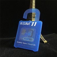 Wholesale R SIM RSIM11 r sim11 rsim unlock card for iPhone plus iOS7 ios ios10CDMA GSM WCDMA SB AU SPRINT G G