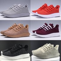 Wholesale Kids Knitted Boots - Tubular Shadow Adult And Kids Running Shoes Knit Core Black White Cardboard Tubular Shadow 3D 350 Boots Training Shoes us 5-11