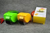 metal cebola chopper venda por atacado-Multi-funcional Cortadores de Cebola Multi-roda Legumes Cortadores de Picador Chopper Slicer Rolo de Frutas Facas de Legumes Cozinha Ferramentas