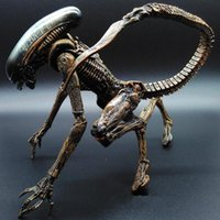 Wholesale Avp Toys - Alien vs Predator AVP ABS 20cm Action Figure Model Collectie toy MOVIE Film Brinquedos opp BAG Scar Predator QUEEN