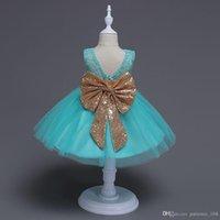 vestidos estilo borboleta venda por atacado-A compromete-se a vender 3 cores venda quente estilo de comércio exterior new arrivals meninas linda lantejoulas borboleta grande vestido de princesa vestido de moda