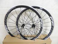 Wholesale Drop Shipping Bikes - Matt Ffwd F4r Road Bike Carbon Wheels 38mm Clincher Aluminum Brake Surface Fast Forward Carbon Alloy Wheels with R36 hubs Free Shipping