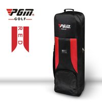 Wholesale Golf Bag Cover - Wholesale- Golf Aviation Bag Golf Air package Thicken Padded Golf Bag Travel Cover with Wheels