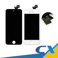 Wholesale Iphone 5c Screen Replacement White - Best Quality Lcd Replacement For iPhone5 5C 5S Lcd 100% OEM Touch Screen Panels Display Digitizer Assembly White Black With Free Ship