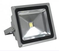 12v führte 24v ac großhandel-Hohe Qualität helles Licht 50W LED Flutlichter 12V 24V bowfishing LEDs Bootsbeleuchtung 50 Watt 5500LM Flutlichter DHL versandkostenfrei