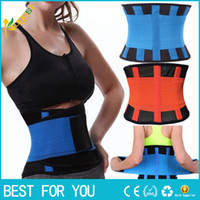 Wholesale best waist cinchers - Hot sale ! Waist trainer cincher Slim waist band orthopedic back support belt with best price