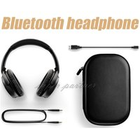 Wholesale computer phone systems - Hot sell! AAA+ quality for headset qc35 wireless Headphone with full retail box free shipping for PC computer system with package