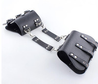 LEDER ARM RESTRAINTS CUFFS Arm Handschellen SM Bondage Suspension Sexspielzeug