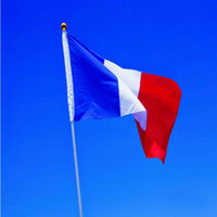 Wholesale France Flag Polyester - France Nation Flags 3 by 5-Feet Flag of French Classic Polyester Flags French Flag Banner With Brass Grommets Banner Flags