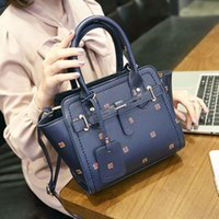 Wholesale Flowers New Generation - The new spring and summer Korean fashion female package wings portable Shoulder Satchel Bag one generation
