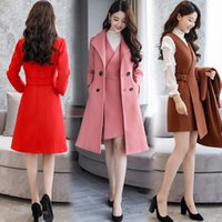 Wholesale Wool Western Skirt - 2017 winter two piece suit and fashionable western style wool skirt suit