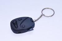 mini gizli kameralar toptan satış-Anahtarlık ile HD 720 P araba anahtarı kamera DVR pinhole kamera gizli mini ses video kaydedici Güvenlik Gözetleme Mini DV siyah