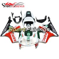 Wholesale Honda Rc51 Motorcycle - Complete White Red Green Fairing For Honda VTR1000 RC51 SP1 SP2 00 01 02 03 04 05 06 Compression ABS Motorcycle Fairing Kit Bodywork Cowling