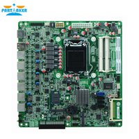 Wholesale Industrial Ethernet - Partaker H67SL B75 LGA1155 socket Industrial Firewall motherboards with 6 lan For Router Firewall Free Shipping