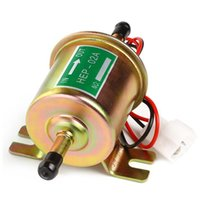 Wholesale Connecting Fitting - 2017 New Universal Lightweight Petrol Gasoline Electric Fuel Pump HEP-02A Low Pressure 12V Easy to Fit and Connect AUP_B00