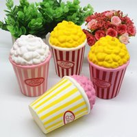 Wholesale Squeeze Ice - Squishy Toy pegasus squishies popcorn Slow Cartoon ice cream sushi Soft Squeeze Cute Cell Phone Strap gift Stress for children