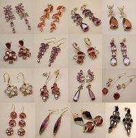 Wholesale Chandelier Earrings Online Wholesale - Hotsale fine long Zircon Earrings Earrings Korean Fashion Online