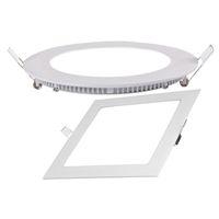 lampenpreise großhandel-Konkurrenzfähiger Preis Neues Quadrat führte vertiefte Plattenlampe Aluminiumplastikdeckenplatte mit 4w 6w 9w 12w 18w AC85-265V