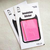 Wholesale Iphone Vinyl Stickers - Carbon Fiber Sticker Vinyl Skin Wrap for iPhone 7 6 6s plus 6plus Galaxy s7 s6 edge note 5 Phone Stickers