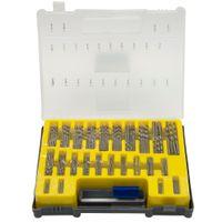 mini pcb toptan satış-150 ADET 0.4-3.2mm Matkap Ucu Seti Küçük Hassas Taşıma çantası ile Plastik Kutu Mini HSS El Aletleri Büküm Matkap Seti Set