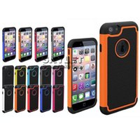 Wholesale Iphone 4s Cases Football - Iphone6 Case Hybrid Case Robot Stand Heavy Rubber Rugged football skin case For iPhone 5 5S IPHONE 4 4S SAMSUNG S5 S4 Stand Cover
