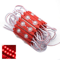 Wholesale current module resale online - 1000X ABS Color Shell Constant Current SMD Leds W Injection LED Module Lens Degree V Waterproof Advertising Light