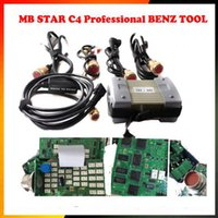 Wholesale Mb Star C3 Hdd - Top 12v 24v For MB Star C3 Full Set With 5 Cables Auto Diagnostic tool MB C3 without HDD for mb star c3 Support for cars trucks