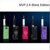 Wholesale Ecig Mods Itaste - 100% original innokin iTaste MVP 2.0 Shine Edition Ecig Kit with iclear 16B atomizer and 2600mAh battery box mod e cigs