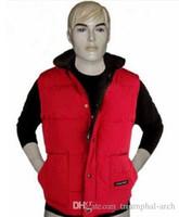 Wholesale down vest xl - fast shipping Brand winter jacket Mens FreeStyle Vest Goose Vest Down Vest Down jacket 5 color