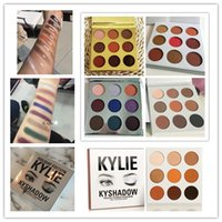 Wholesale Eyeshadow Palette Style - in stock 4 style kyshadow style christmas edition + holiday edition eyeshadow + bronze kyshadow + burgundy eye shadow palette Kylie jenner