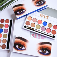 Kylie Royal Peach Pallete Jenners 12color Lidschatten Palette mit Stift Kosmetik 12color Lidschatten Palette Kyshadow Kylie Make-up