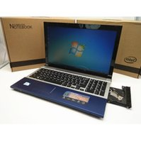 Wholesale Notebook Computer Dvd - 15.6 inch gaming laptop notebook computer wtih DVD 8GB DDR3 500GB HDD in-tel J1900 quad core WIFI webcam HDMI