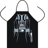 Wholesale Star Wars aprons Wonder women Anime Cartoon Character Series Kitchen Apron Funny Personality Cooking apron Christmas wa3259