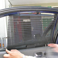 Оптово-Летний автомобиль Sunshade Curtain Side Rear Window Mesh Visor Shield Window Suction Cup Auto Sun Shade 60 см * 46 см