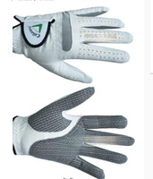 Wholesale Wholesale Lamb Leather - Wholesale- Brand men Golf glove guantes lamb genuine soft Lambskin leather breathable durable Non-slip Golf gloves right left hand luvas