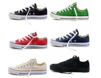 Wholesale Canvas Shoes Size 26 - 13 Color 26 Style All Size 35-46 Low Style High Style Chuck Classic Canvas Shoe Sneakers Men Women Sport Shoes Casual Shoes Kid Shoes